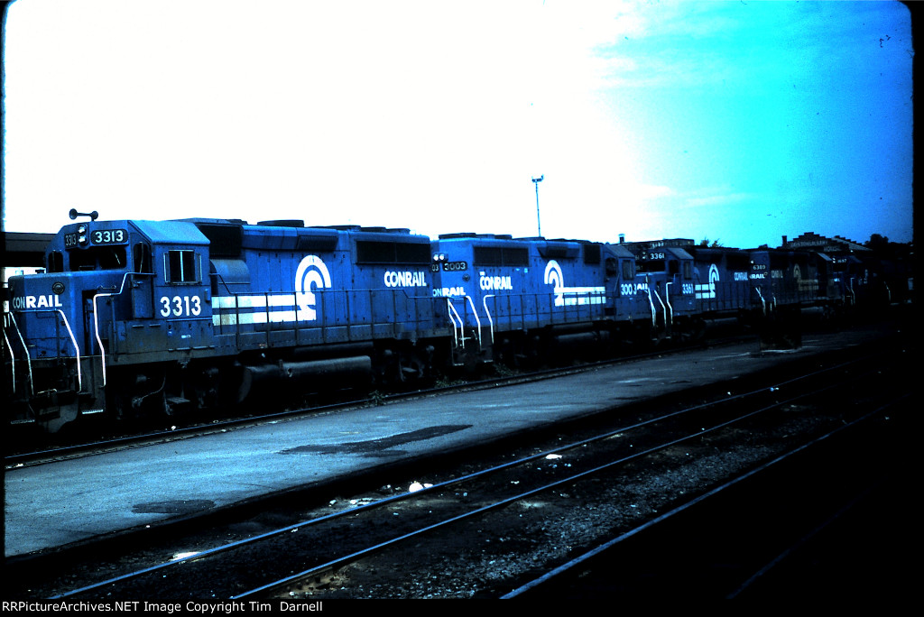 CR 3313 on engine move